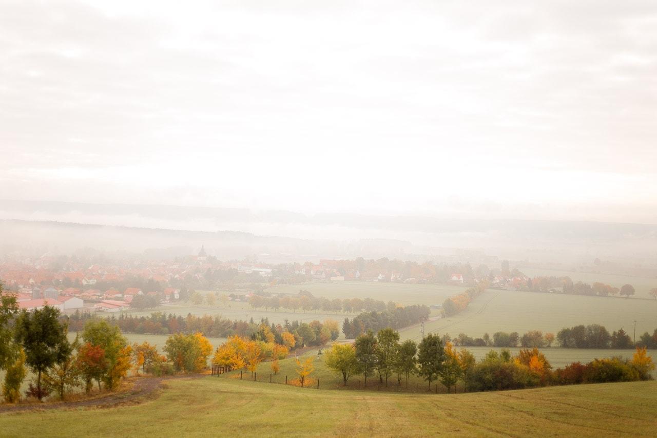 Aussicht Herbst Eichsfeld Svenja Eder Photography