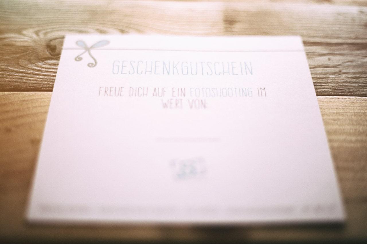 Geschenk- Gutschein Svenja Eder Photography