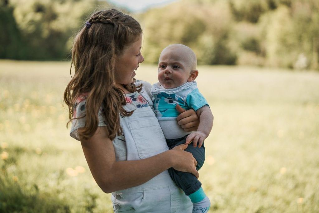 Familienshooting im Eichsfeld